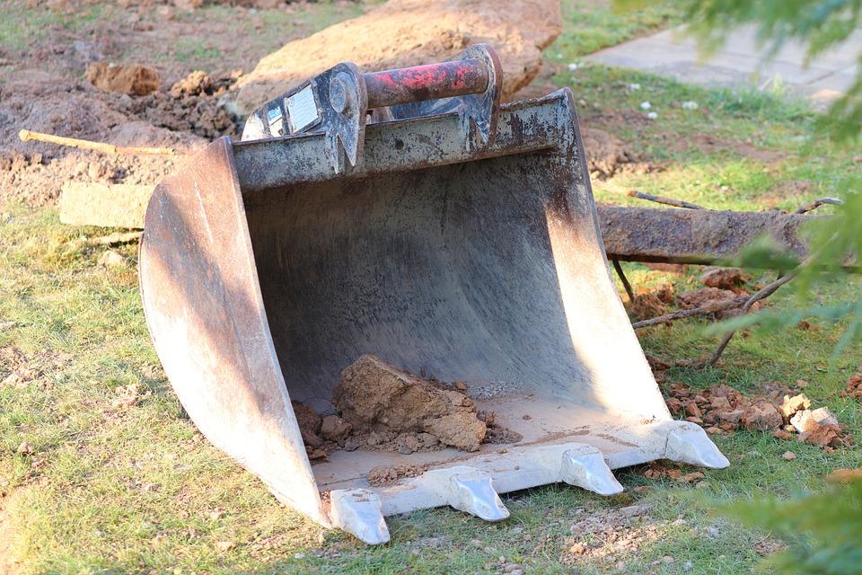 Udført arbejde i forbindelse med fiber nedgravning
